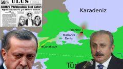Efendin emir verdi. Montrö'den çekilip Boğazlar'ı ve Karadeniz'i Amerikan Donanmasının emrine sunacaksın, değil mi Hain!