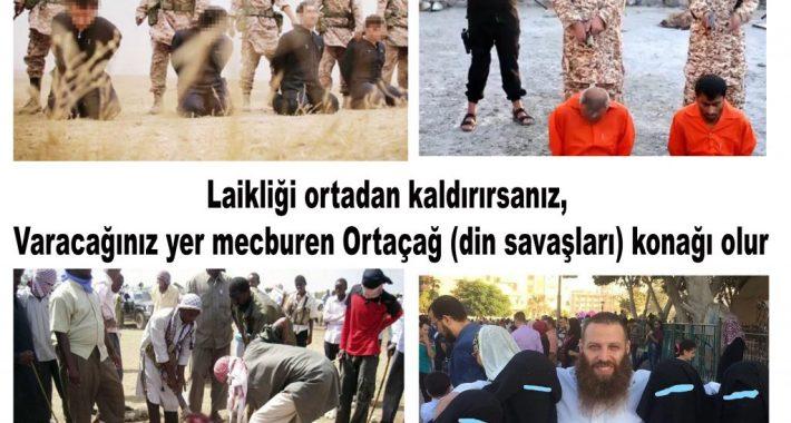 Danıştayın Türk Ordusu'nda türbanı serbest bırakan kararı üzerine: Laikliği ortadan kaldırırsanız, Varacağınız yer mecburen Ortaçağ (din savaşları) konağı olur