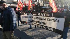 Soma Katliamı'nın yeniden yapılan duruşmasında, Partimiz HKP, Aileleri yalnız bırakmadı