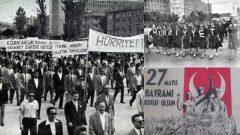 Yaşasın 27 Mayıs Politik Devrimi!