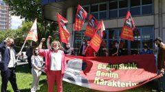 Partimiz, ülkemizin dört bir yanında 19 Mayıs'ı kutlarken AKP'giller Mustafa Kemal'e Anıtkabir'i yasaklamayı sürdürüyor!