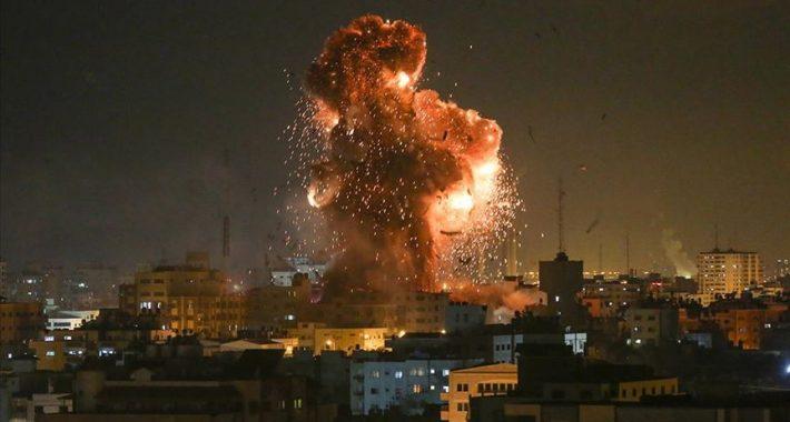 AB-D Emperyalistlerinin Ortadoğu'daki kan dökücüsü, cana kıyıcısı Siyonist İsrail ne kana doyuyor, ne de gözyaşına!