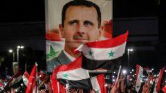 """Suriye Lideri Beşşar Esad'ın seçim zaferi """"Katil ABD Ortadoğu'dan Defol!"""" diyemeyenlere, halk düşmanlarına, kandan beslenenlere atılmış bir tokattır!"""