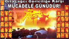 Sivas'ın Cellâtlarına karşı bıkmadan, yılmadan, kararlıca mücadele etmek söndürecektir, Madımak'ta 28 yıldır dinmeyen yangını!