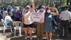 Milas Akbelen Ormanları için İkizköylülerin Direnişine desteğimiz devam ediyor