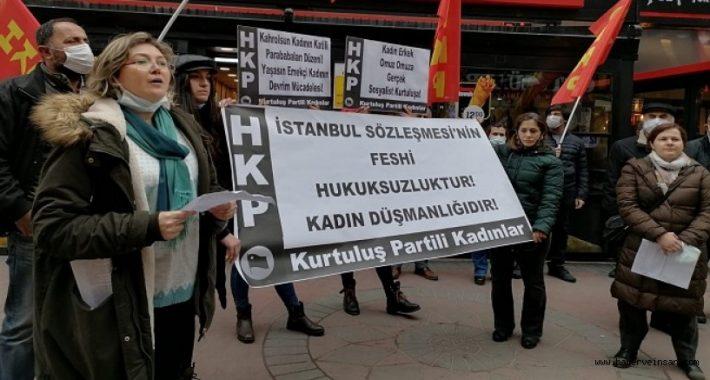 Partimizden İstanbul Sözleşmesi Davasında reddi hâkim başvurusu