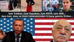 İşte Taliban, işte Tayyiban, işte FETÖ, işte IŞİD… Aynı kan, ateş ve ölüm cehenneminden fırlayıp gelmiş İfritler…