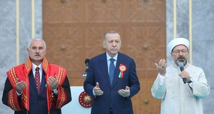 Dualı Adli Yıl Açılışı Şer'i ve Örfi Hukuka dönüş alıştırmasıdır… Karşısında Laik Hukuku savunan Partimiz vardır!