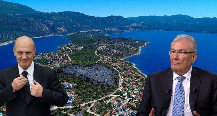 Türkiye'deki tek ve gerçek muhalefet partisi olan Partimizden bir suç duyurusu daha: Partimiz bu kez de Kaş-Çukurbağ vurgununu yargıya taşıdı