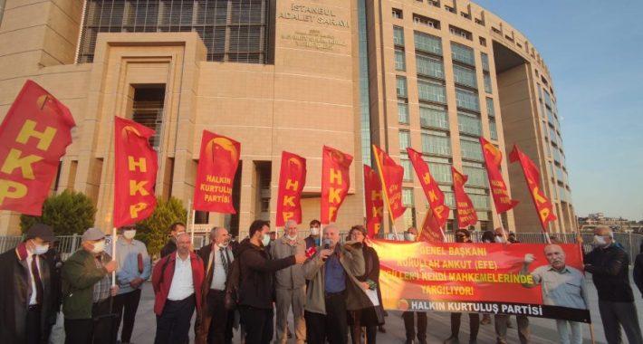 """Genel Başkan'ımız, Halkımızın yakıştırmasıyla """"HKP'li Dayı"""" AKP'giller'i bir kez daha yargıladı!"""